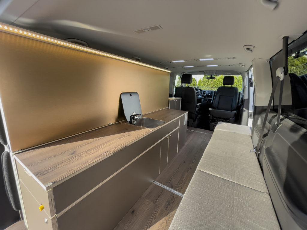 Camping Ausbau hochwertig für VW Bus T6