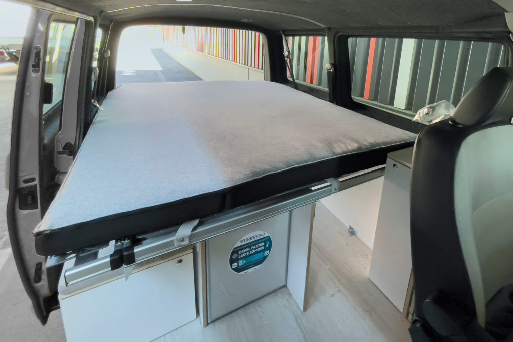 Bett Camping Ausbau VW Bus T6